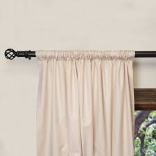 No Sew Curtains No Sew Rod Pocket Curtains Curtain Menzilperdenet