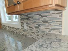 Installing Glass Mosaic Tile Backsplash New Incredible Stone And Glass Backsplash Just Inspiration For Your Home
