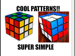 Cool Rubik's Cube Patterns