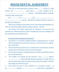House Rent Agreement Format | Gtld World Congress