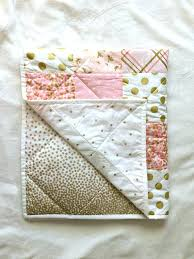 pink and gold bedding pink and gold baby bedding baby blanket modern baby quilt girl pink pink and gold bedding