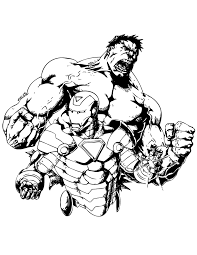 Small Picture Hulk And Iron Man Coloring Pages Coloring Coloring Pages