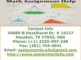 assignmentsu math assignment help online math assignment help co   calculus assignment help online contact info 10685 b hazelhurst dr 16127 houston tx 77043