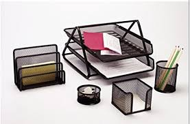 office desktop accessories. Delighful Desktop CraftDevSetOf5StationerySetDeskOrganiser In Office Desktop Accessories S