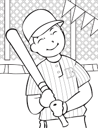 Small Picture Baseball Coloring Pages 15 Coloring Kids