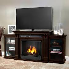 real flame ashley entertainment center ventless gel fireplace dark walnut tv stands at hayneedle