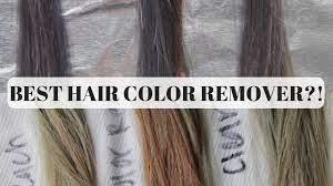 hair bleach color remover