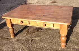 pine coffee table. Antique English Pine Coffee Table Design O