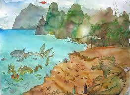 hawaii beach print kauai art prints