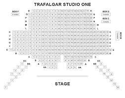 Trafalgar Studios One Seating Plan Chart London Uk