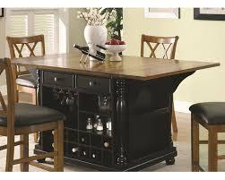 Co Kitchen Furniture Coaster Two Tone Kitchen Island Kitchen Carts Co 102270 71