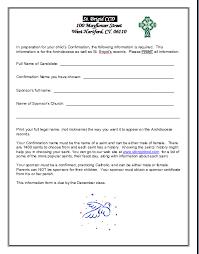 confirmation 9th grade calendar 10th grade calendar and sponsor form sample