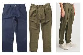 Make Pants Pleated Pants Make A Fashionable Comeback