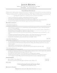 Electronic Test Technician Resume Sample Samples Orlandomoving Co