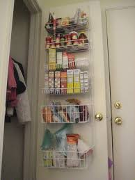 apartment improv coat closet and pantry small steps big picture wire organizers the bathroom over door