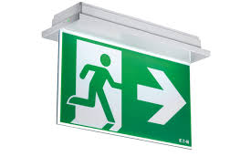 Exit Sign Lighting Requirements Efficient Emergency Exit Sign Safety Light Nexitech Led