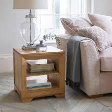 natural solid oak side tables side