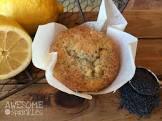 banana lemon poppy seed muffins