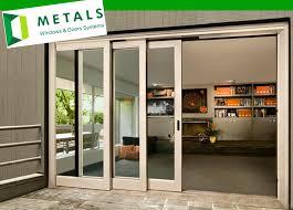 sliding glass door panels 4 panel patio inside decor 7