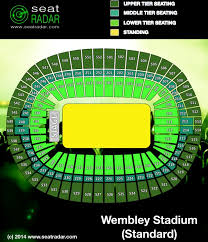 Wembley Stadium Nfl Seating Chart Wembley Stadium London Seatradar Com
