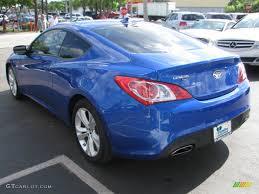 2010 Mirabeau Blue Hyundai Genesis Coupe 2.0T Premium #52454365 ...
