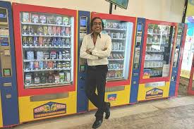 Vending Machine Shop Amazing Melbourne Shoppers Get A Onestop Shop With All Essentials Sold In