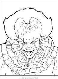 Pennywise Coloring Sheet Fun Coloring