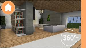 Minecraft Living Room Furniture Minecraft Living Room Designs 360a0 Degree Minecraft Youtube