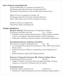 Cv Template Student Sample Student Cv Template 9 Download Free Documents In
