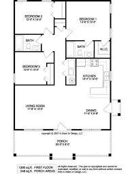 simple small house floor plans floor