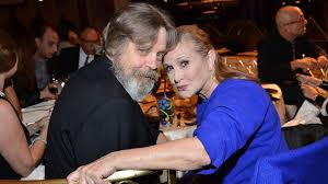 carrie fisher 2014. Beautiful Carrie Onscreen Siblings Mark Hamill And Carrie Fisher In 2014 Beverly Hills  California On R