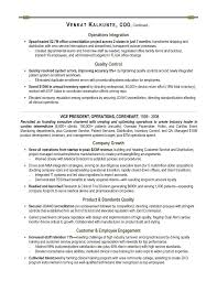 COO Sample Resume - Executive resume writer for Technology, Operations, &  Financial Leaders.