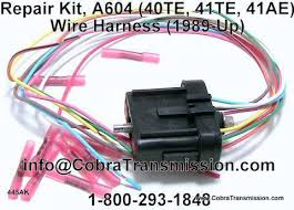 repair kit a604 40te 41te 41ae wire harness 92445ak repair kit a604 40te 41te 41ae wire harness