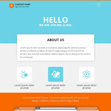 Clinic Website Template Psd File Free Download