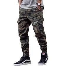 New Fashion <b>Men Streetwear Mens Jeans</b> Jogger <b>Pants</b> Youth ...