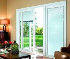 sliding patio doors with blinds best sliding patio doors with blinds glass door home decorating concept