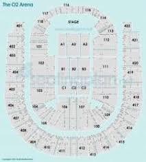 O2 Arena London Seating Plan