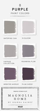 Bring your design vision together with purple hues from Magnolia Home by  Joanna Gaines paint  Purple Paint ColorsVintage ...