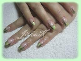 43 Zelená Ornamentjpg Modeláž Nehtů Hodonín
