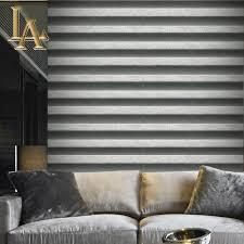 Hoge Kwaliteit Zandsteen Zwart Wit Gestreepte 3d Behang Voor Muren