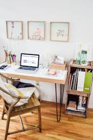 home office, office space, desk, stylish desk, DENY designs, beach house