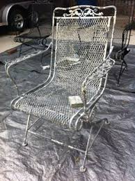 many years your patio furniture might get a bit tired and ugly on this diy page you will find out how i easily painted my wrought iron chairs a89