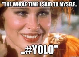 The Great Gatsby YOLO memes | quickmeme via Relatably.com