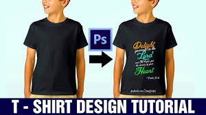 Photoshop Cs6 T Shirt Design Tutorial How To Design A T Shirt In Photoshop Cs6 Tutorial