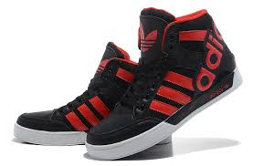 adidas shoes high tops red and black. adidas high tops mens black and red shoes d