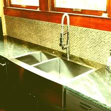 farmhouse sink with laminate countertops how to install best drop in stainless steel flush mount a front remodel copper wallpaper undermount counte