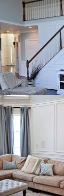 Living Room Wainscoting Remodelaholic Beginner Tips And Tricks For Installing Trim