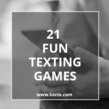 21 fun texting games to play with a guy
