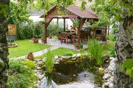 4 398 backyard pond stock photos free