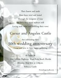 Microsoft Invitation Good Wedding Invitations Wording And 50th Wedding Anniversary